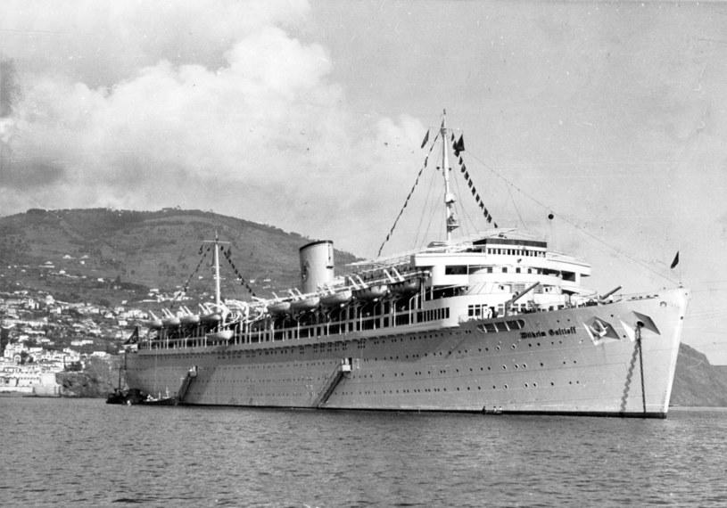 Statek Wilhelm Gustloff /Agencja FORUM