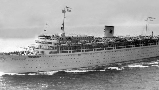 Statek Wilhelm Gustloff /PAP/EPA