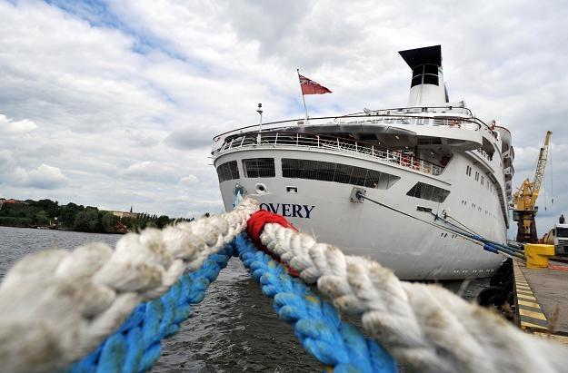 """Statek wycieczkowy """"Discovery"""" w Szczecinie /PAP"""