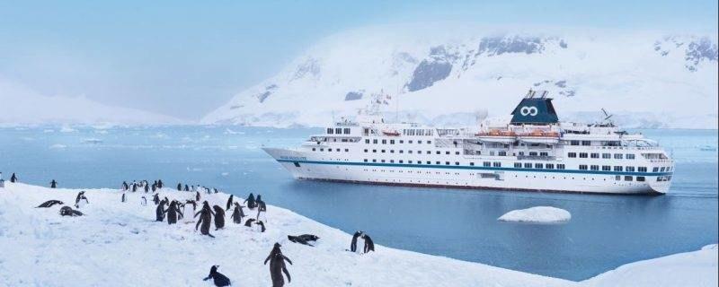 """Statek wycieczkowy RCGS """"Resolute"""" posiada wzmocnienia przeciwlodowe /domena publiczna"""
