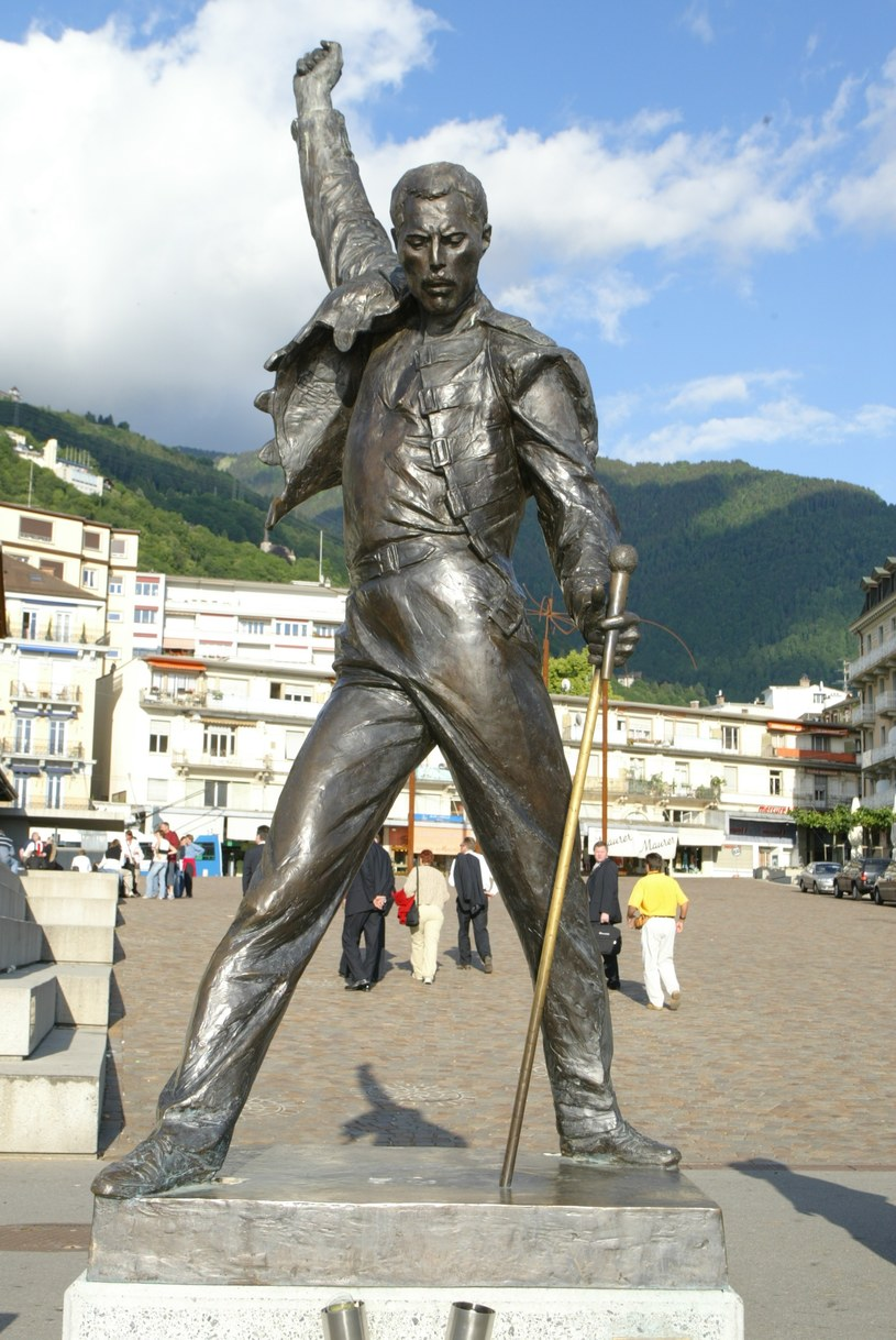 Statua Freddiego Mercury'ego /INTERIA.PL
