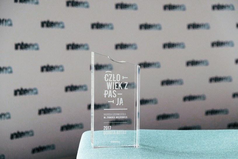 Statuetka, którą otrzymała laureatka konkursu /Paweł Krawczyk /INTERIA.PL