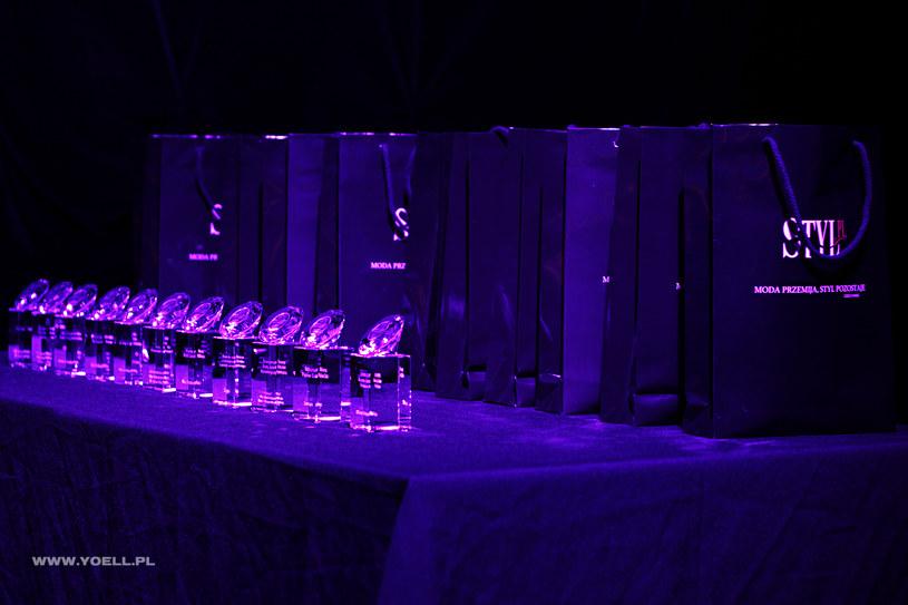 Statuetki dla zwycięzców Stylowego Kosmetyków 2012 /materiały prasowe