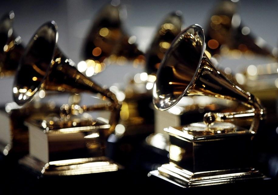 Statuetki Grammy /JOHN ANGELILLO /PAP/Newscom