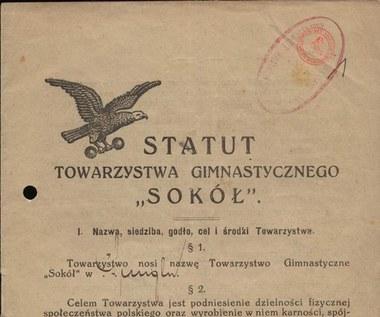 """Statut Towarzystwa Gimnastycznego """"Sokół"""""""