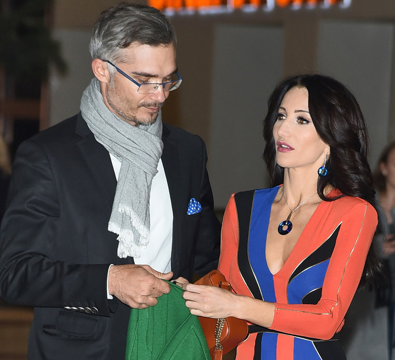 Steczkowska z mężem /MWMedia