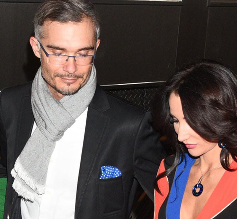 Steczkowska z mężem /East News