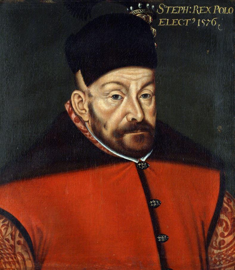 Stefan Batory na nowożytnym portrecie /domena publiczna