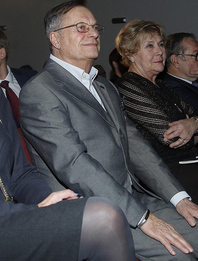 Stefan Friedmann i Teresa Lipowska /Krzemiński Jordan /AKPA