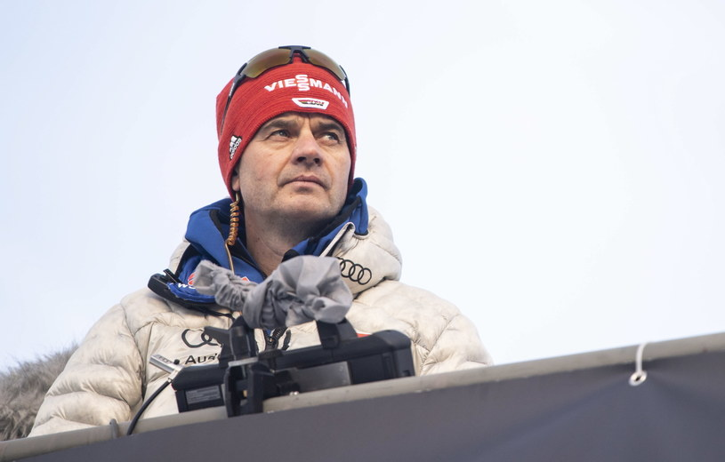 Stefan Horngacher podczas Turnieju Czterech Skoczni /PAP/EPA