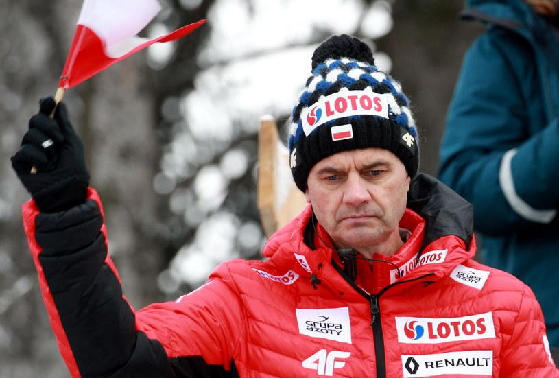 Stefan Horngacher /Grzegorz Momot /PAP
