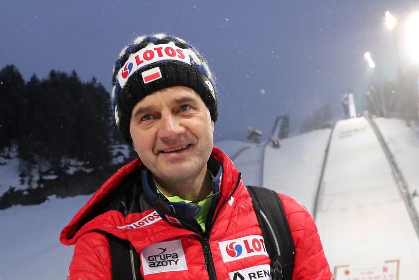 Stefan Horngacher / Grzegorz Momot    /PAP