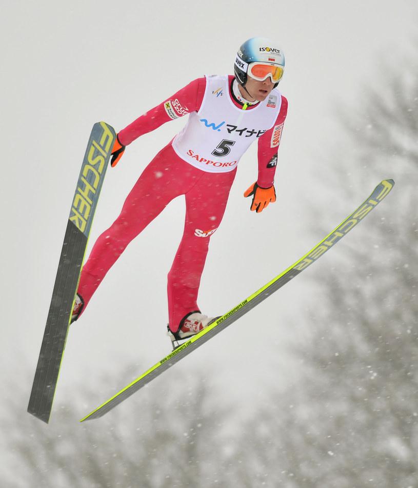 Stefan Hula znalazł się w kadrze na pierwsze zawody Pucharu Świata w Klingenthal /AFP