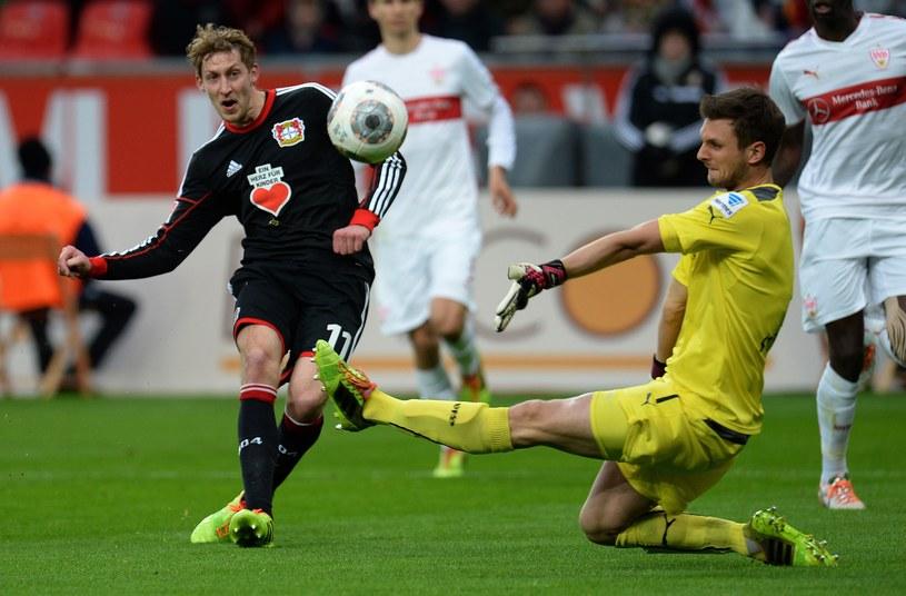 Stefan Kiessling zdobył pierwszego gola dla Bayeru Leverkusen /AFP