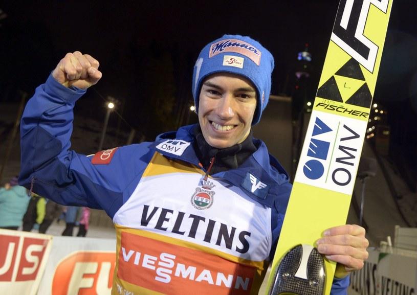 Stefan Kraft jest nowym liderem klasyfikacji generalnej PŚ /AFP