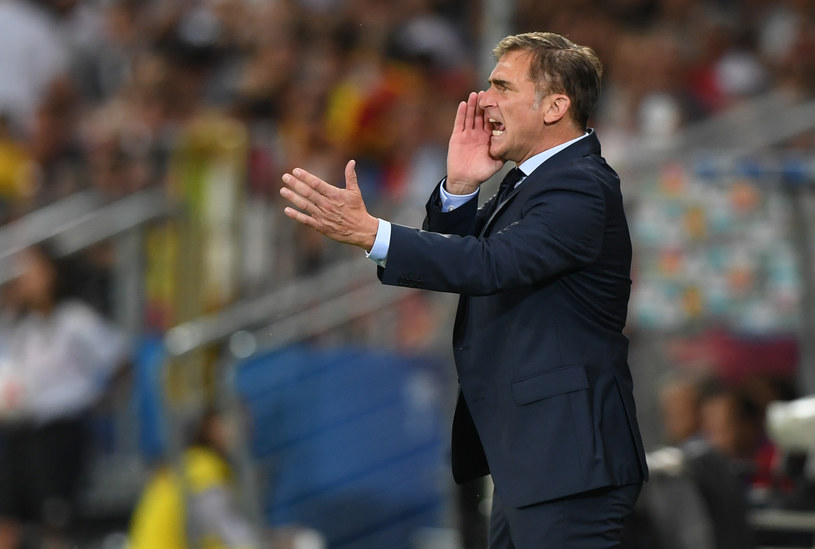 Stefan Kuntz podczas meczu finałowego z Hiszpanią /AFP