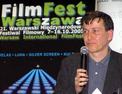 Stefan Laudyn na konferencji prasowej /INTERIA.PL