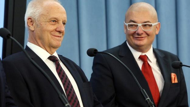 Stefan Niesiołowski odchodzi z PO. Jest w nowym kole poselskim, razem z nim Protasiewicz i Kamiński