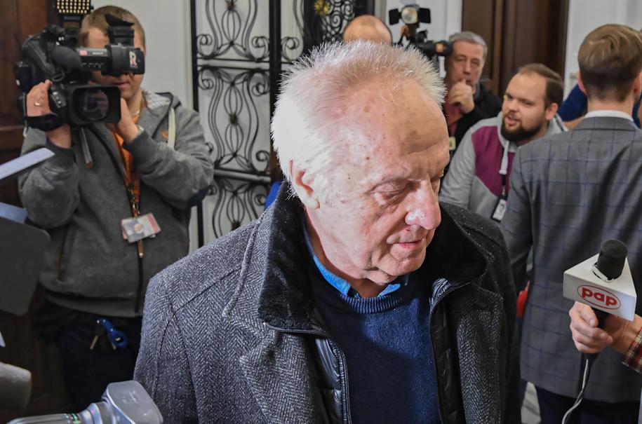 Stefan Niesiołowski w Sejmie /Piotr Nowak /PAP