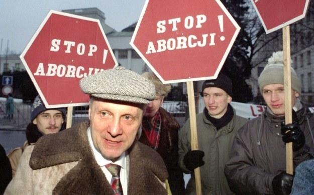 Stefan Niesiołowski zaczynał od ZChN, fot. Tomasz Wierzejski /Fotonova