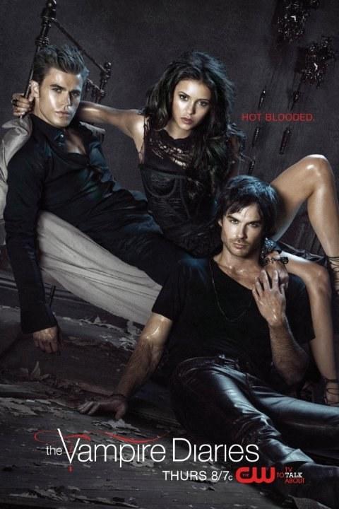 Stefan (Paul Wesley), Elena (Nina Dobrev) i Damon (Ian Somerhalder) przestali walczyć o miłość. Teraz z sercowymi problemami zmagają się inni mieszkańcy Mystic Falls. /materiały prasowe