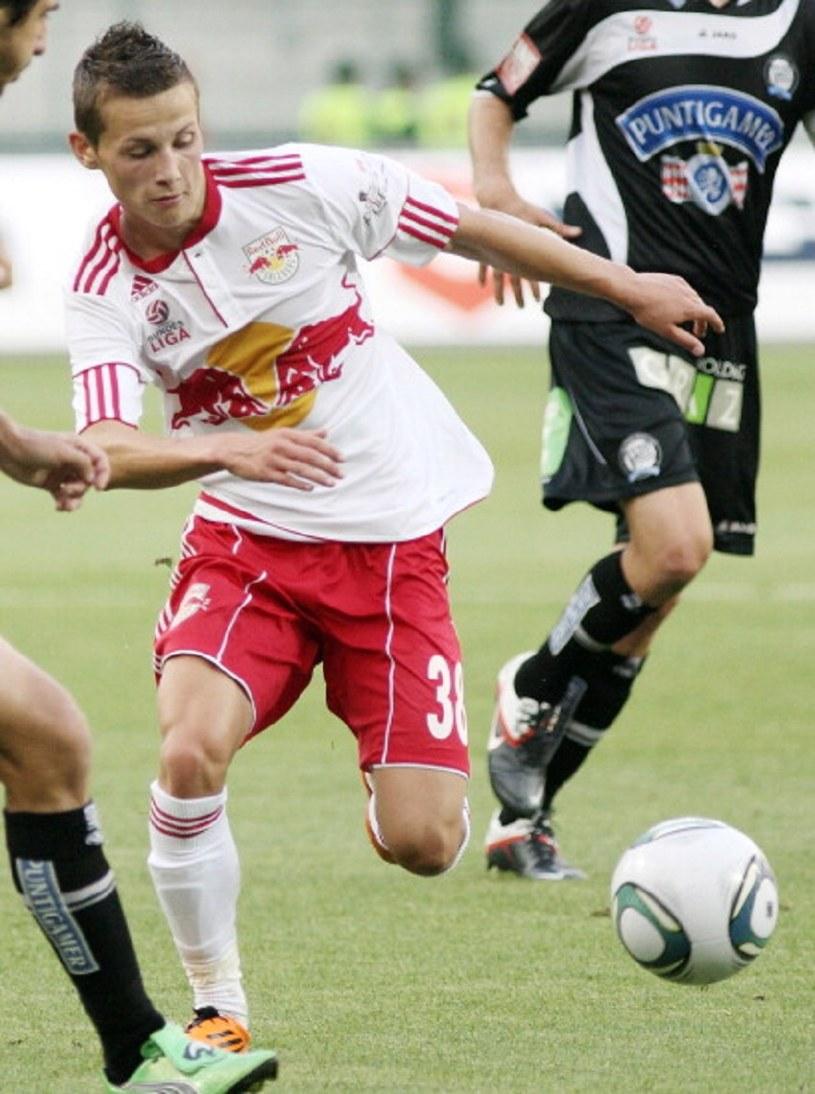 Stefan Savić w barwach RB Salzburg /Dieter Nagl/EuroFootball/Getty Images /Getty Images
