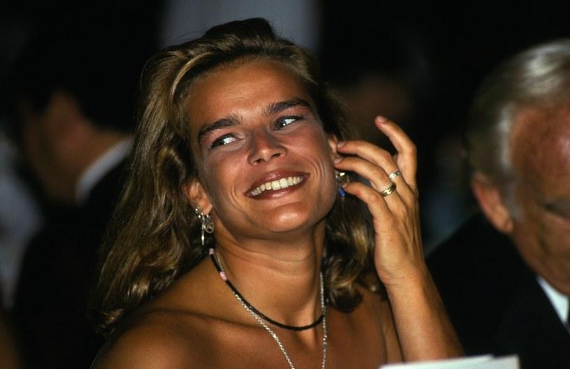 Stefania odziedziczyła urodę po matce /Jean-Pierre REY/Gamma-Rapho via Getty Images /Getty Images