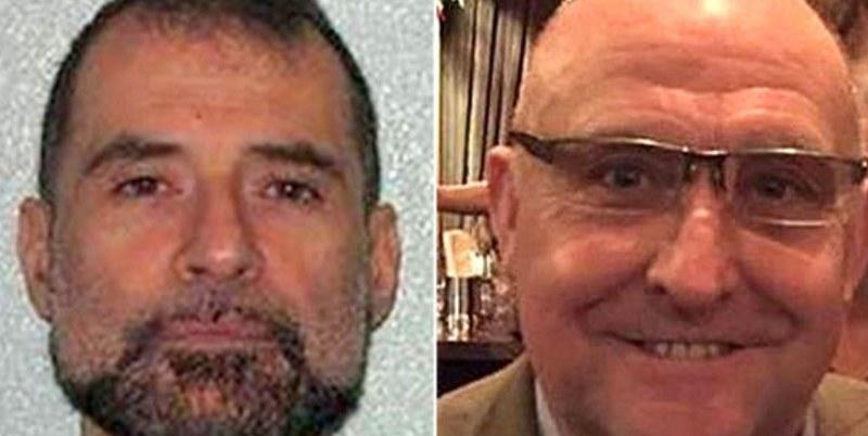 Stefano Brizzi (z lewej) i jego ofiara, Gordon Semple /SKY NEWS /Twitter