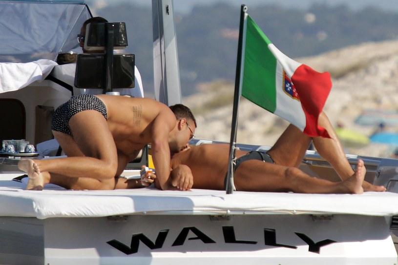 Stefano Gabbana z chłopakiem /Agencja FORUM