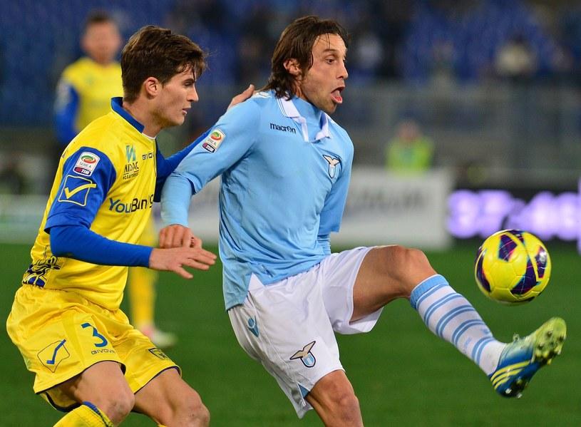 Stefano Mauri (z prawej) jest w gronie oskarżonych o sportowe oszustwa /AFP