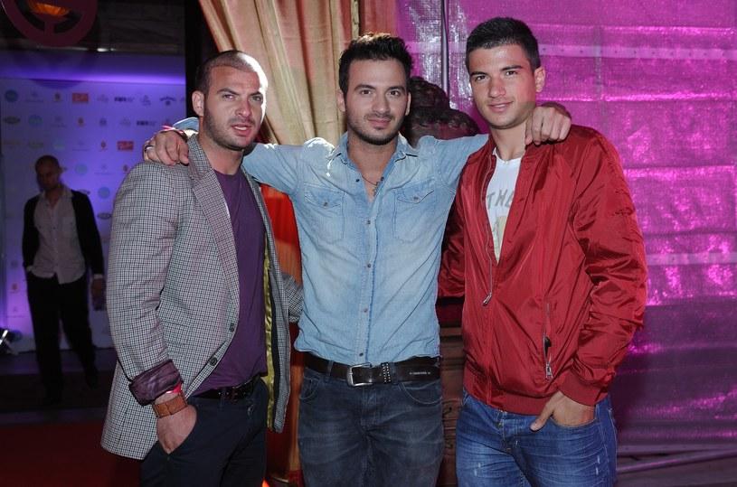 Stefano Terrazzino z braćmi: Vincenzo i Marco /East News