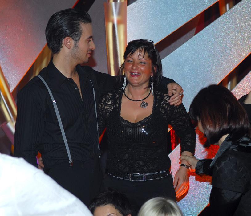 Stefano Terrazzino z mamą Giovanną /East News
