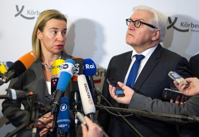 Steinmeier i Mogherini zaniepokojeni sytuacją na Ukrainie /PAP/EPA