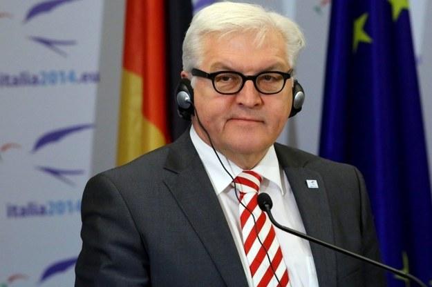 Steinmeier: Starania Ukrainy o NATO to dolewanie oliwy do ognia