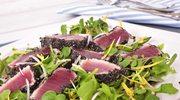 Stek z tuńczyka z sezamem