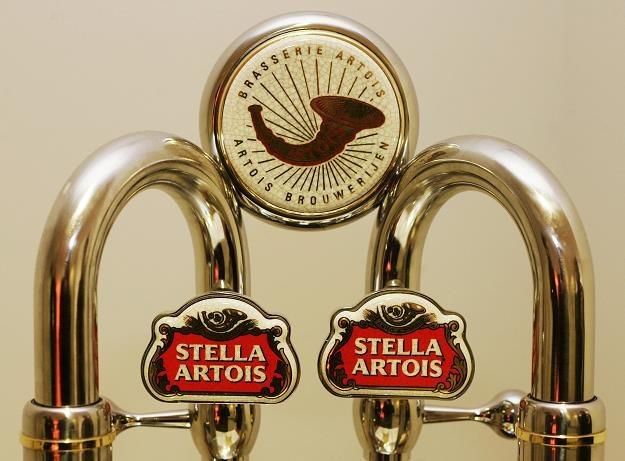 Stella Artois to flagowa marka A-B InBev. Fot. Mark Renders /Getty Images/Flash Press Media