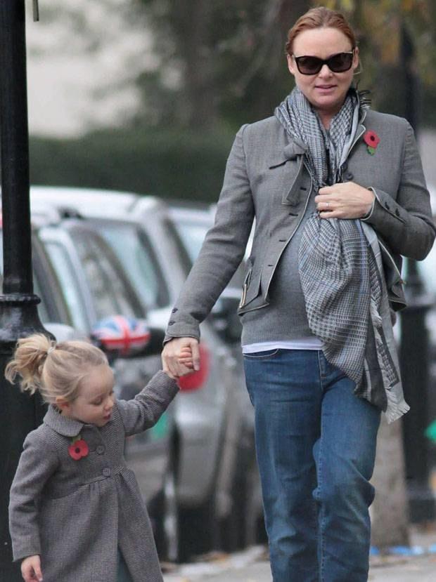 Stella McCartney z córką Bailey Lindą Olwyn  /Splashnews