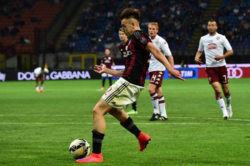 Stephan El Shaarawy był bohaterem meczu Milanu z Torino /AFP