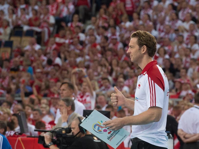 Stephane Antiga - trener reprezentacji Polski /Grzegorz Michałowski /PAP