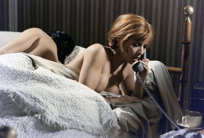 """Stéphane Audran w filmie Claude'a Sauteta """"Vincent, François, Paul... i inni"""" (1974) /Collection Christophel /East News"""