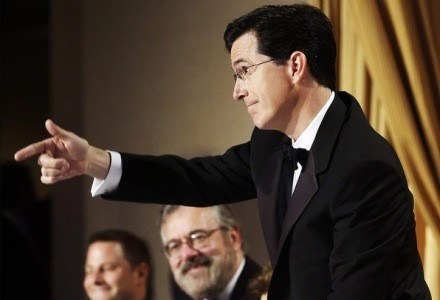 Stephen Colbert, Osoba roku dla wręczających nagody Webby. /AFP