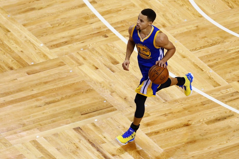 Stephen Curry #30 z Golden State Warriors /AFP