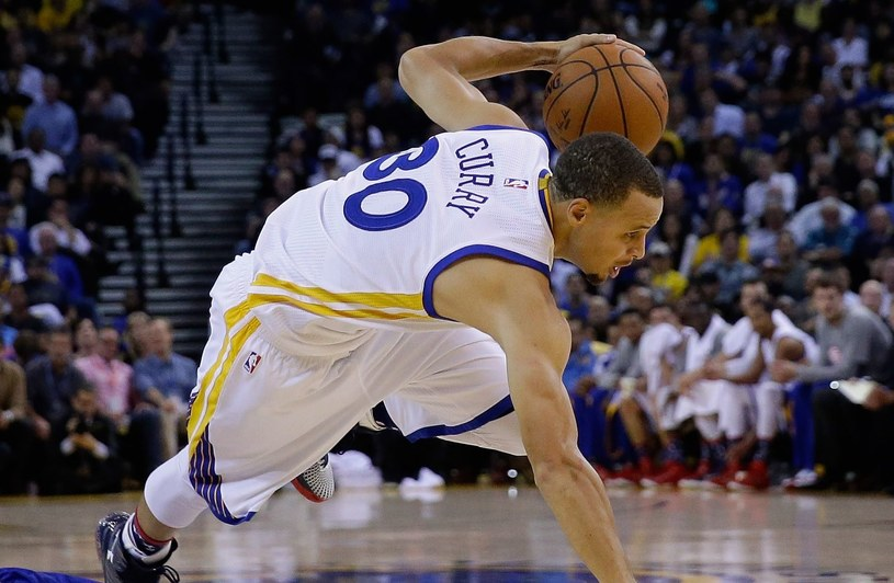 Stephen Curry z Golden State Warriors /AFP