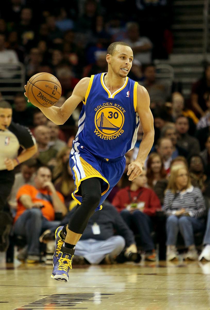 Stephen Curry zdobył 36 punktów w meczu z Miami Heat /AFP