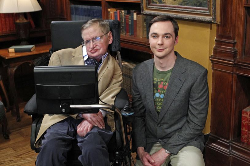"""Stephen Hawking w """"Teorii wielkiego podrywu"""" /CBS /Getty Images"""