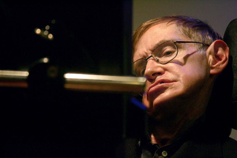 Stephen Hawking zmarł w wieku 76 lat /AFP