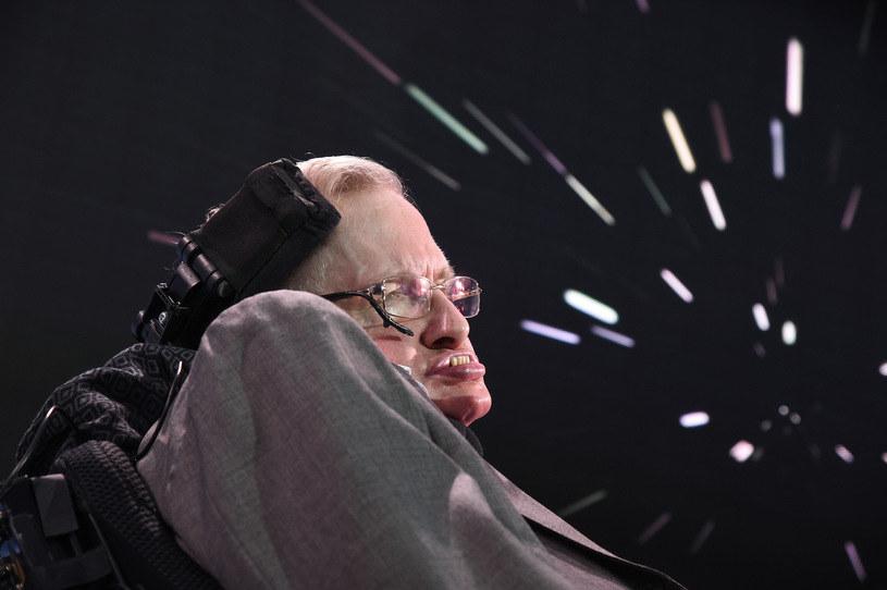 Stephen Hawking /AFP