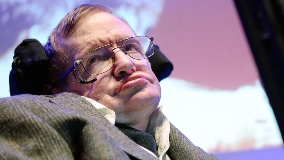 Stephen Hawking / ANDY RAIN    /PAP/EPA