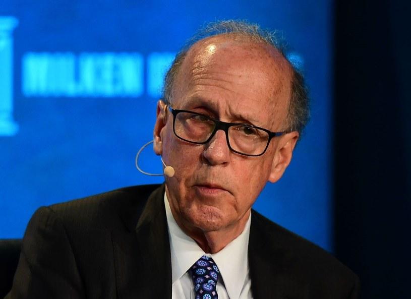 Stephen Roach, profesor Uniwersytetu Yale i były główny ekonomista globalnego banku inwestycyjnego Morgan Stanley /AFP