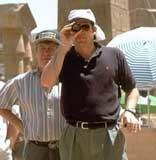 "Stephen Sommers na planie filmu ""Mumia"" /"